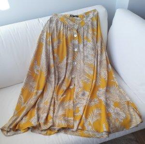 Zara Jupe longue multicolore fibre synthétique