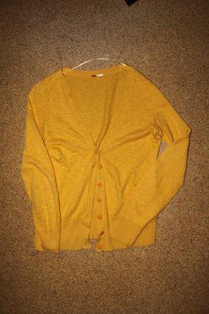 Sonnengelber Cardigan von H&M