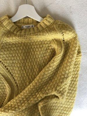 Mango Coarse Knitted Sweater primrose