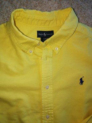 sonnengelbes Ralph Lauren Hemd