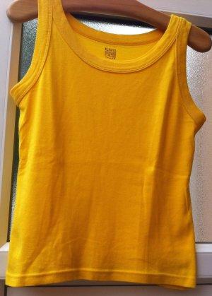 Montego Camiseta amarillo oscuro-naranja dorado Algodón