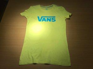 Sonnengelbes VANS T-Shirt in S