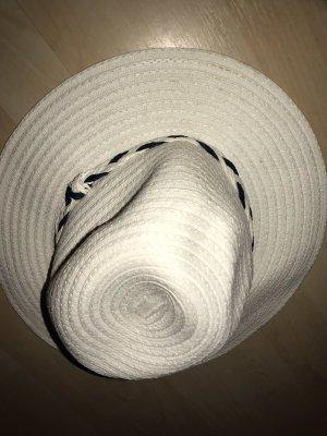 Cappello parasole bianco-blu
