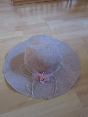 Sun Hat pink-nude synthetic fibre