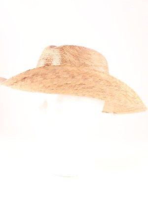 Cappello parasole beige-rosa stile spiaggia