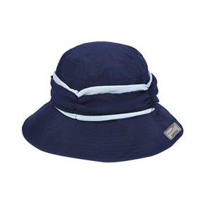 Cappello parasole blu scuro-bianco Cotone