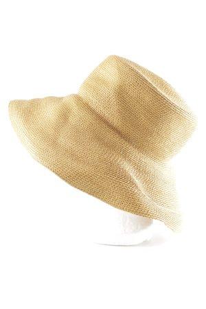 Chapeau de soleil brun sable élégant
