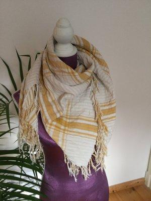 H&M Conscious Collection Pañuelo blanco-amarillo