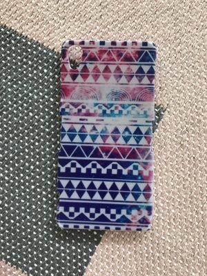 Sony XPeria Z2 Case Cover Bumper Hülle Ethno Ikat