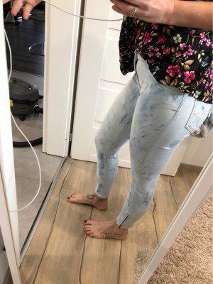 Soocx Slim fit Jeans gefleckt