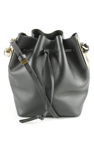 Sophie Hulme Handtasche schwarz schlichter Stil