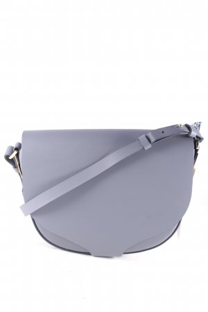 "Sophie hulme Schultertasche ""Barnsbury Medium Saddle Bag Charcoal"""