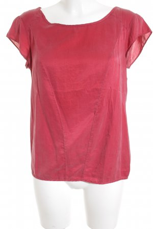 Sophie Kurzarm-Bluse rot Casual-Look