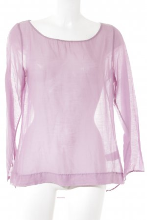 Sophie Langarm-Bluse rosa Casual-Look