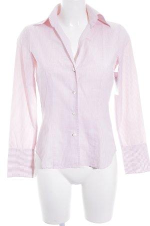 SØR Langarm-Bluse rosa-weiß Karomuster Casual-Look