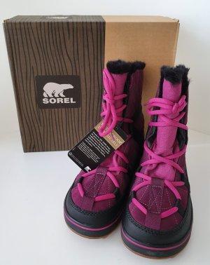 Sorel Snow Boots violet-black