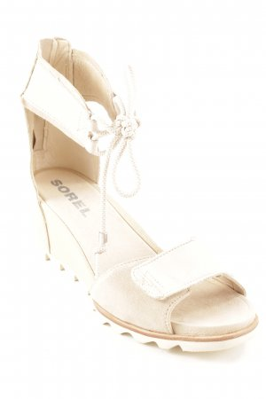 Sorel High Heel Sandaletten hellbeige Beach-Look
