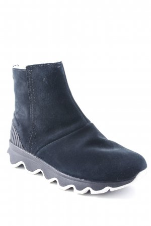 Sorel Zipper Booties black-white extravagant style