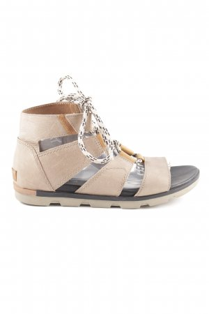 Sorel Roman Sandals cream casual look