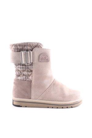 Sorel Bottes de neige crème style mode des rues