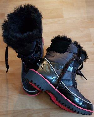 Sorel Botas de invierno negro-magenta