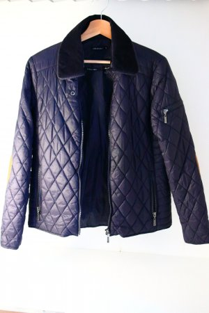 SOS Jensen Between-Seasons Jacket dark blue-blue polyester