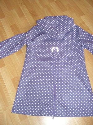Undrest Manteau de pluie violet-blanc autre