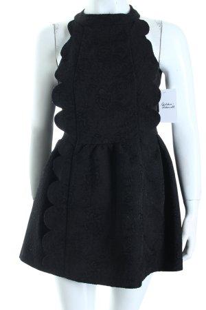 Soul. Kleid schwarz extravaganter Stil