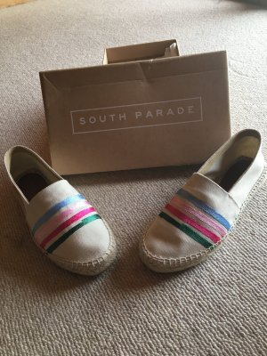 Mocassins multicolore coton