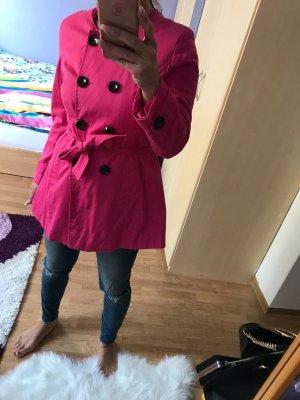 Gabardina rosa