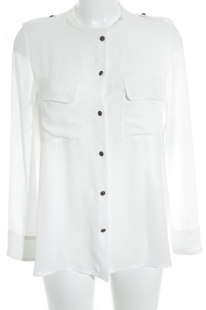 Souvenir Clubbing Hemd-Bluse weiß Elegant