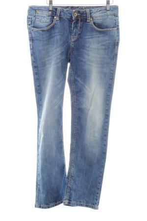 Soxxc Straight-Leg Jeans blau Casual-Look