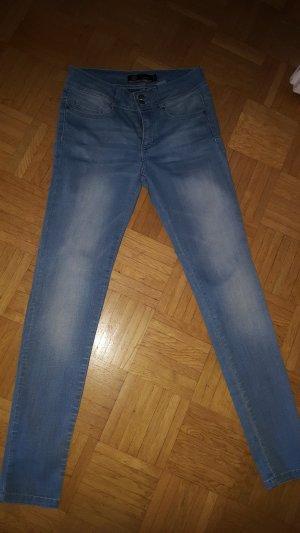 Soyaconcept Hoge taille jeans lichtblauw-lichtblauw Katoen