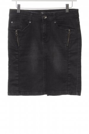 Soyaconcept Jeansrock anthrazit Casual-Look