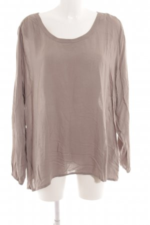 Soyaconcept Langarm-Bluse grau Casual-Look