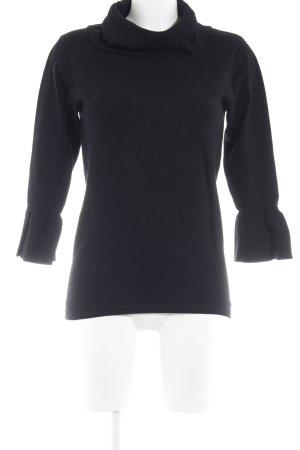 Soyaconcept Rollkragenpullover schwarz minimalistischer Stil
