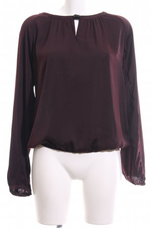 Soyaconcept Schlupf-Bluse rot Casual-Look