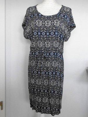 soyaconcept Sommerkleid blau gemustert Gr. XL
