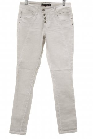 Soyaconcept Stretch jeans licht beige-room casual uitstraling