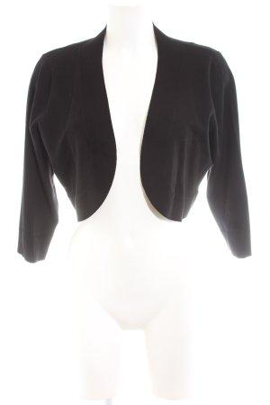 Soyaconcept Boléro en tricot noir élégant