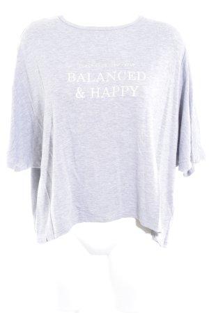 Soyaconcept T-Shirt hellgrau Casual-Look