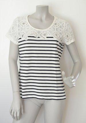 Soyaconcept Stripe Shirt natural white-dark blue
