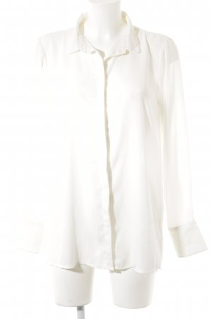 Soyaconcept Transparenz-Bluse wollweiß Business-Look