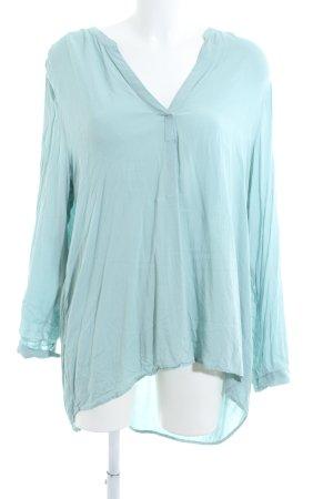 Soyaconcept Blusa de túnica turquesa look casual