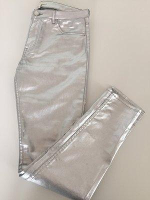 H&M Pantalone cinque tasche argento