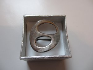 Spaciger Fossil Ring