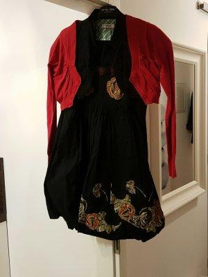 Spaghetti-Kurz-Kleid mit 2 Überjacken