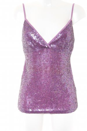 Spaghetti Strap Top violet party style