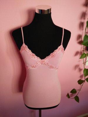 adilisk Top con bretelline rosa-rosa chiaro