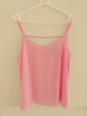 Primark Top con bretelline rosa pallido